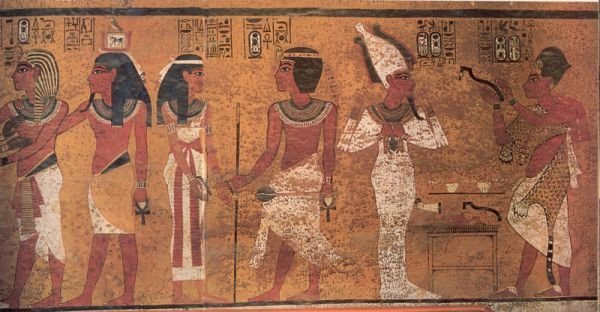 egyptské malby